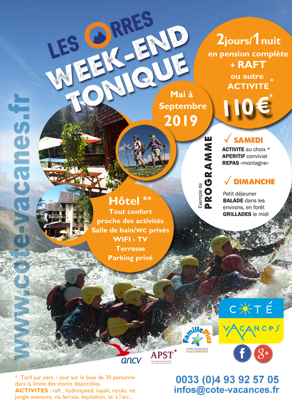 Week-end tonique - Les Orres